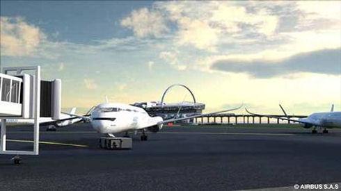 Airbus работает над созданием самолетов будущего