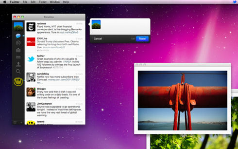 Клиент Twitter для Mac остался без обновлений