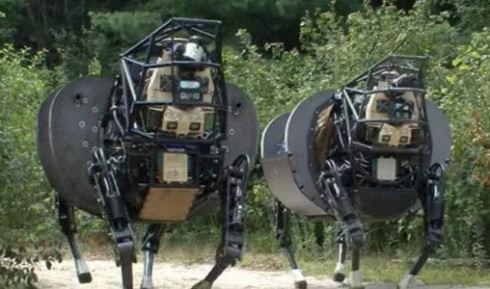 DARPA модернизировала робота «Робомула»