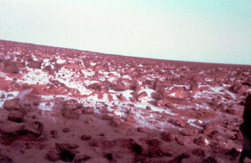 Снег из углекислоты регулярно выпадает на Марсе