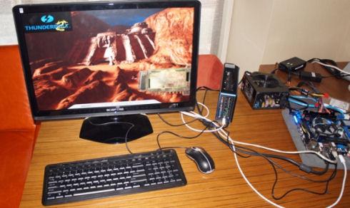 Lucid Logix подключит видеокарты через порт Thunderbolt