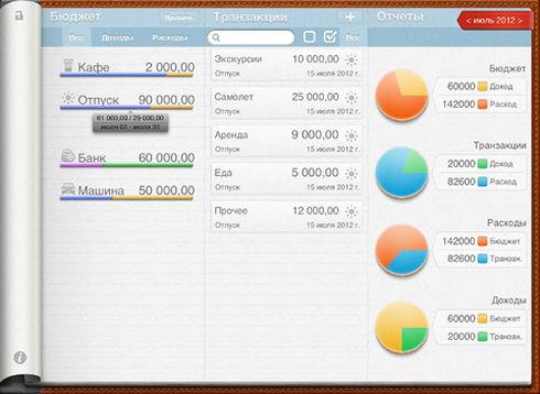 Мои Финансы с Budget Notes – доступный бюджет на iPhone
