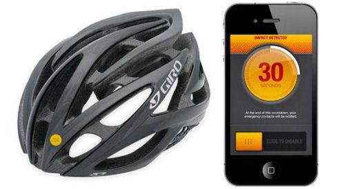 Интерактивный велосипедный шлем ICEdot