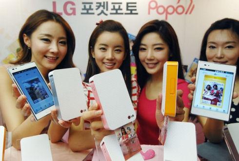 Фотопринтер LG для мобильных гаджетов