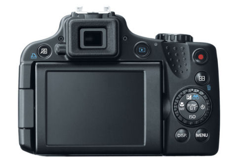 Canon PowerShot SX50 HS – компактный 50-кратный зум