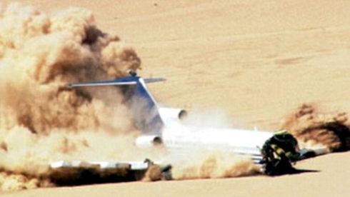 Boeing 727 стал объектом краш-теста