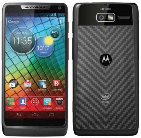 Motorola RAZR i идет на рекорд