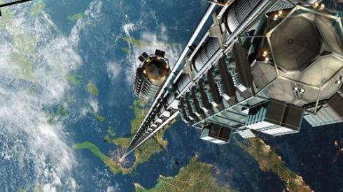 Грузовой лифт на Луну из нанотрубок