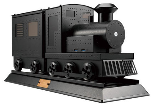 Компания Lian-Li представила компьютер-паровоз
