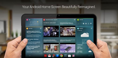 Графическая оболочка Chameleon для Android