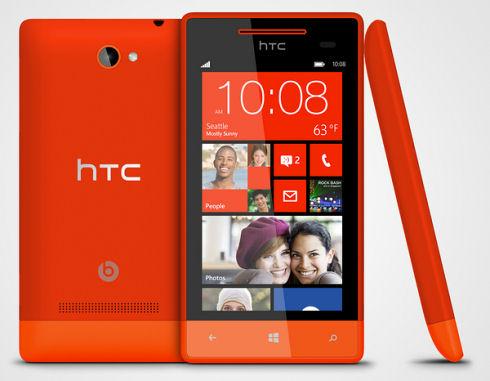 Смартфон HTC 8S – быстрый и недорогой
