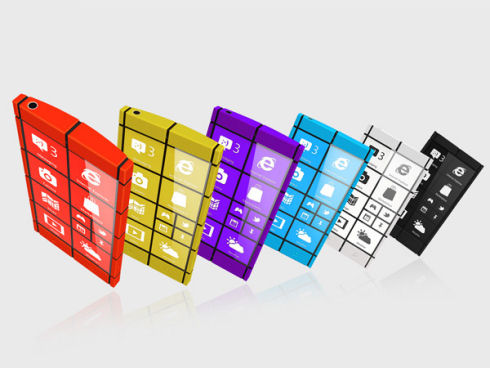 Смартфон WP8 по-гречески