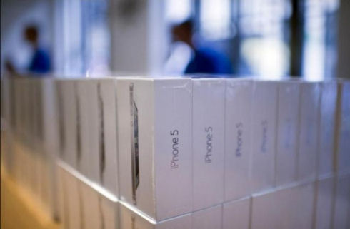 Первые кражи iPhone 5