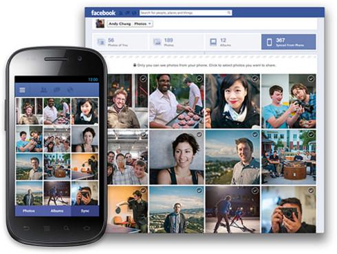 Photo Sync – облачная синхронизация фотографий в Facebook