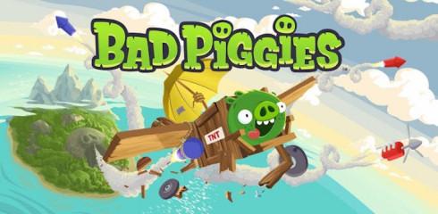 Bad Piggies - зеленые свиньи от Rovio