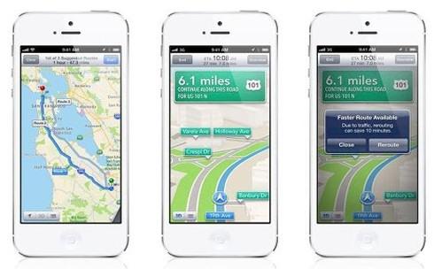 Apple официально признала неудачу с картами в iOS 6
