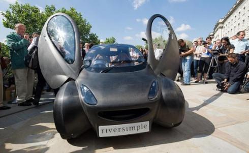 Водородный автомобиль Riversimple Urban Car