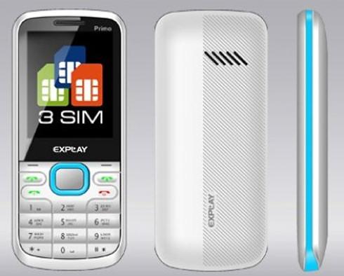 Explay Primo с поддержкой трех SIM-карт