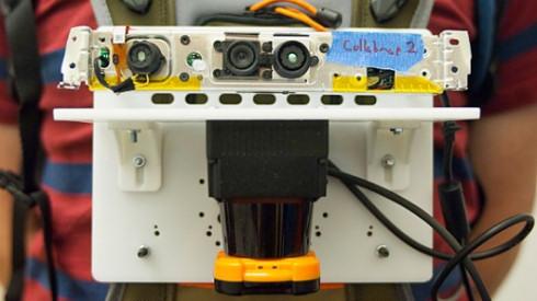 3D-сканер построит карту помещения