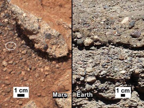 На Марсе найдены следы древнего ручья