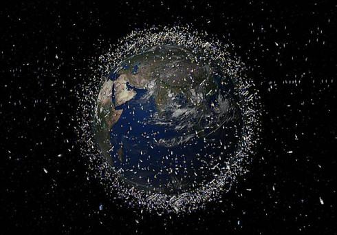 Орбита Земли переполнена космическим мусором
