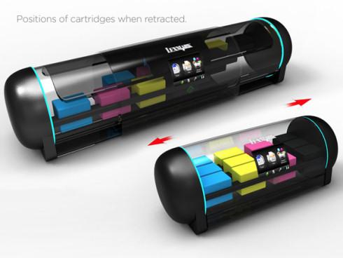 Принтер Retractable – цветная компактность