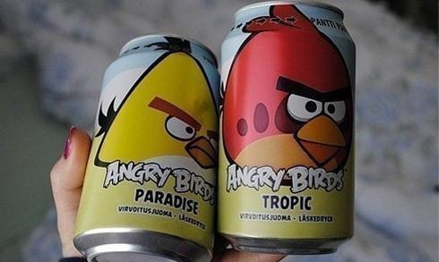 Angry Birds можно будет попробовать на вкус