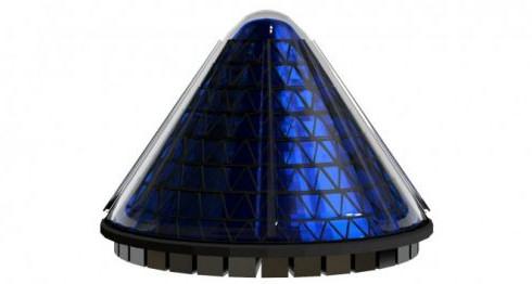 Конусная солнечная батарея V3 Spin Cell