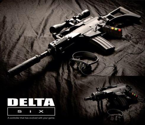 Delta Six – игровой контроллер в стиле спецназа