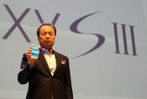 Samsung Galaxy S III с размером дисплея 4 дюйма