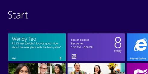 Windows 8 докатилась до первого обновления