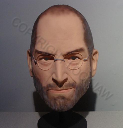 Маска Стива Джобса для Хэллоуина продается на eBay