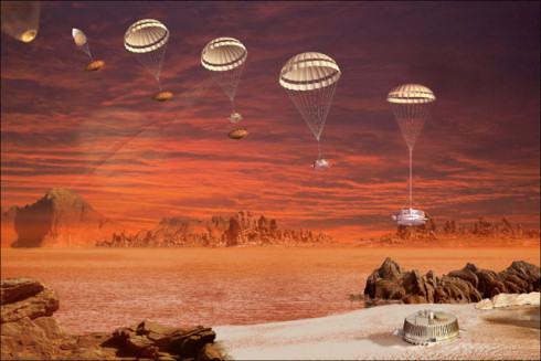 Титан: мягкий и влажный, словно песок