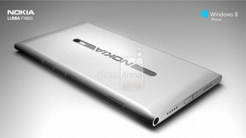 Nokia Lumia FX800: концептуально