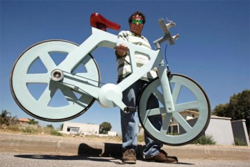 Картонный велосипед ломает стереотипы