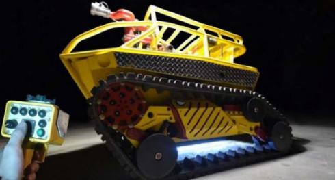 Робот-пожарный Thermite