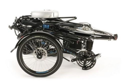 Трехколесный велосипед на электротяге