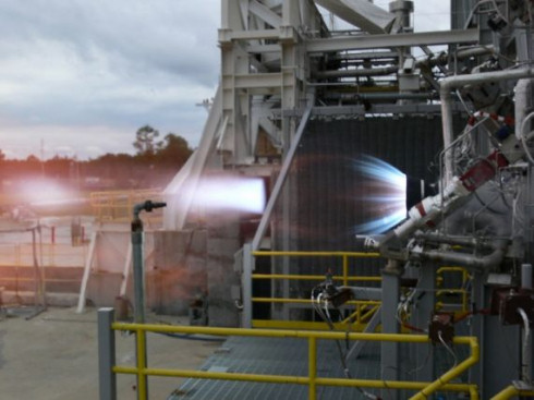 Blue Origin испытала водородный двигатель BE-3