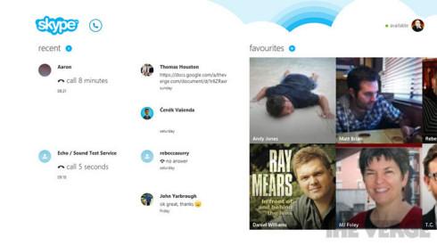Skype и плитка: скоро вместе!