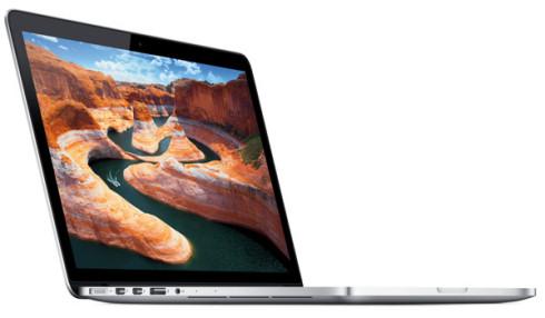 Apple показала MacBook Pro 13 с Retina экраном