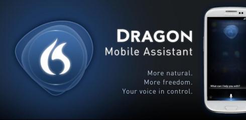 Dragon Mobile Assistant – голосовой помощник