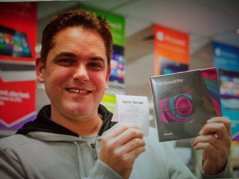 Стив Балмер дал старт Windows 8