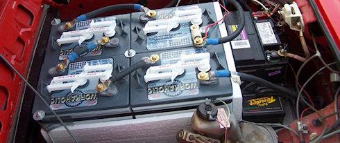 Беспроводная зарядка для электрокаров