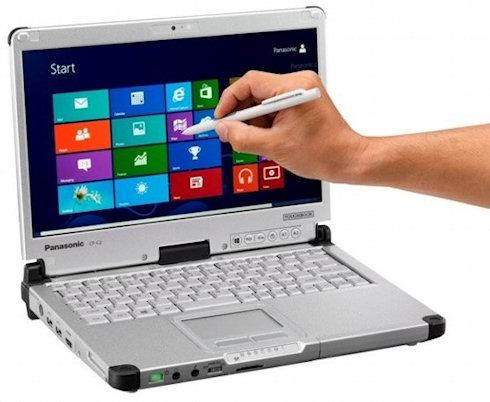 Panasonic Toughbook C2: Windows 8 под защитой