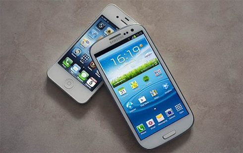 Samsung Galaxy SIII растет на фоне «популярности» Apple