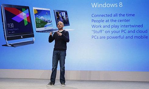 Первые итоги продаж Windows 8