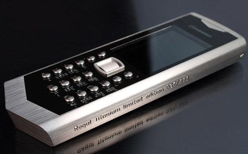 Gresso выпустила 333 титановых телефона Regal Titanium