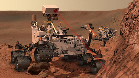 Curiosity не нашел достаточно метана на Марсе