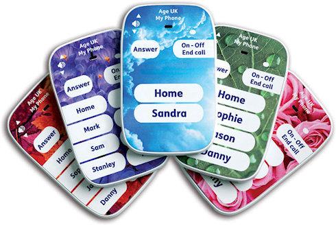 Телефон для быстрого дозвона от Age UK