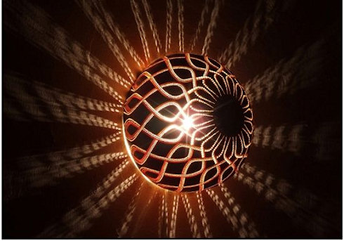 Тыквы светильники: очарование света